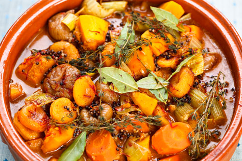 Quick and value vegetable tagine recipe