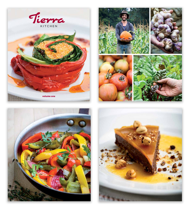 Tierra Kitchen Cookbook - Volume one